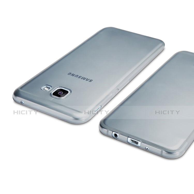 Samsung Galaxy A8 (2016) A8100 A810F用極薄ソフトケース シリコンケース 耐衝撃 全面保護 クリア透明 T02 サムスン クリア