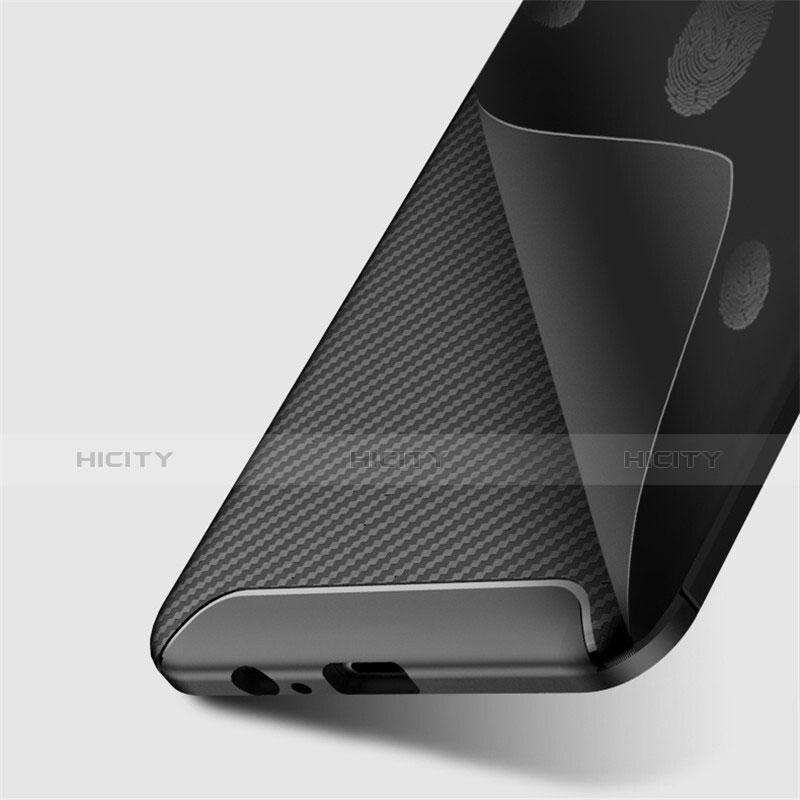 Samsung Galaxy A8+ A8 Plus (2018) Duos A730F用シリコンケース ソフトタッチラバー ツイル カバー S01 サムスン