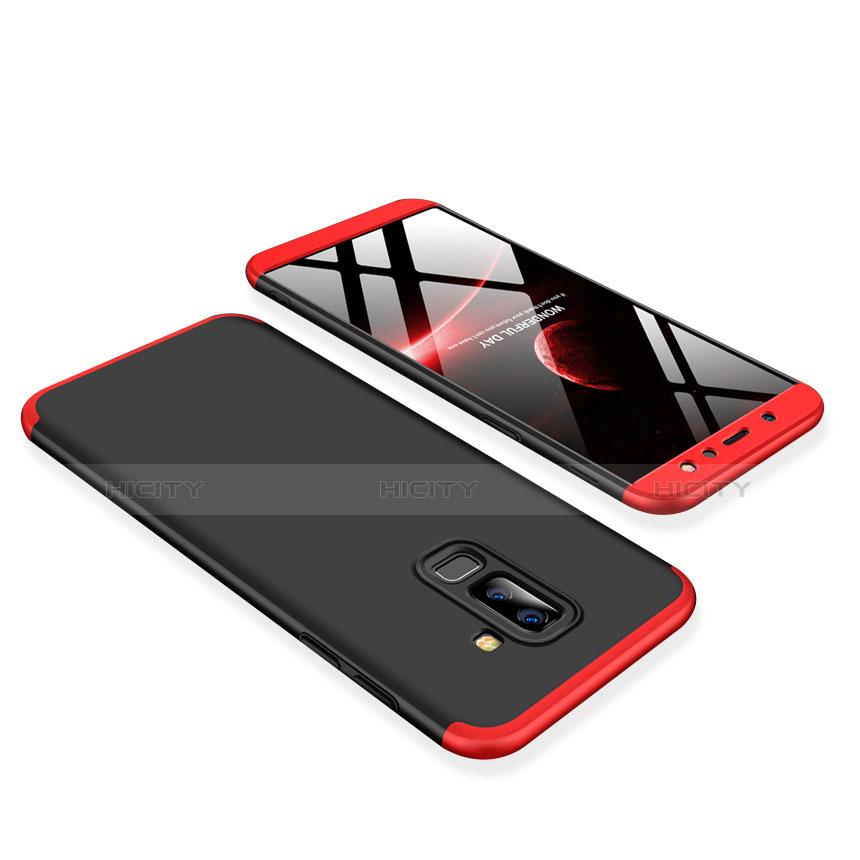 Samsung Galaxy A9 Star Lite用ハードケース プラスチック 質感もマット 前面と背面 360度 フルカバー サムスン レッド・ブラック