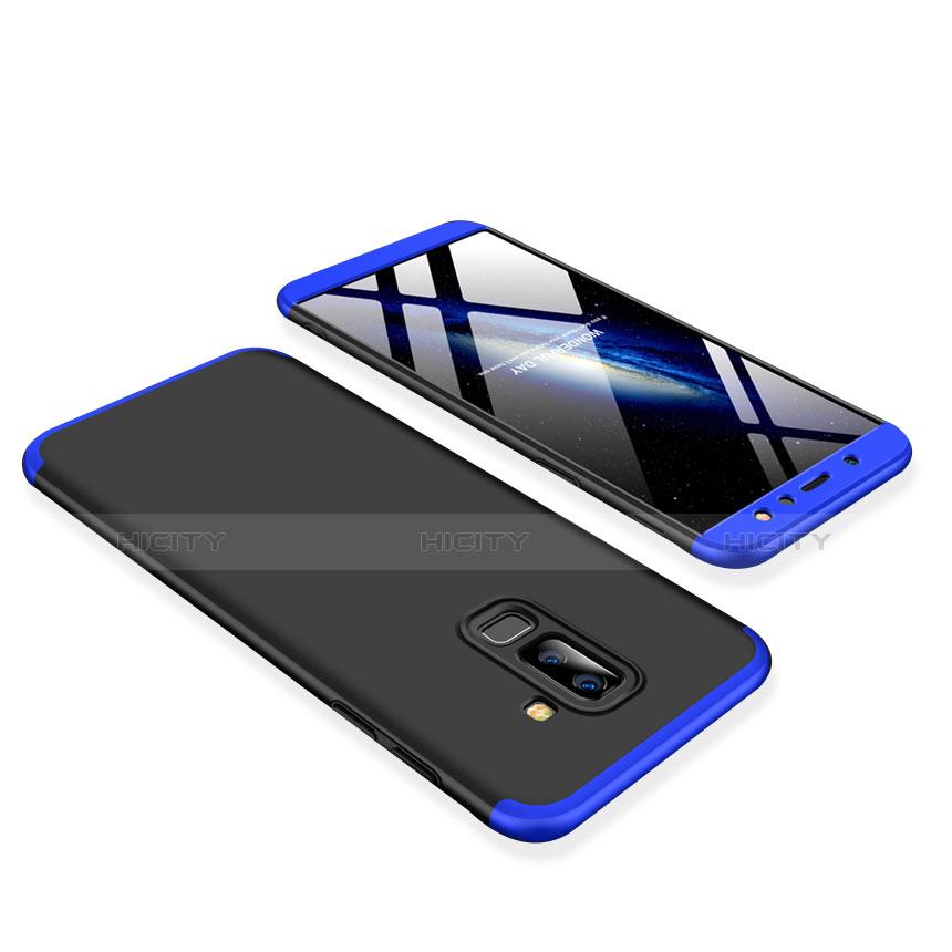 Samsung Galaxy A9 Star Lite用ハードケース プラスチック 質感もマット 前面と背面 360度 フルカバー サムスン ネイビー・ブラック