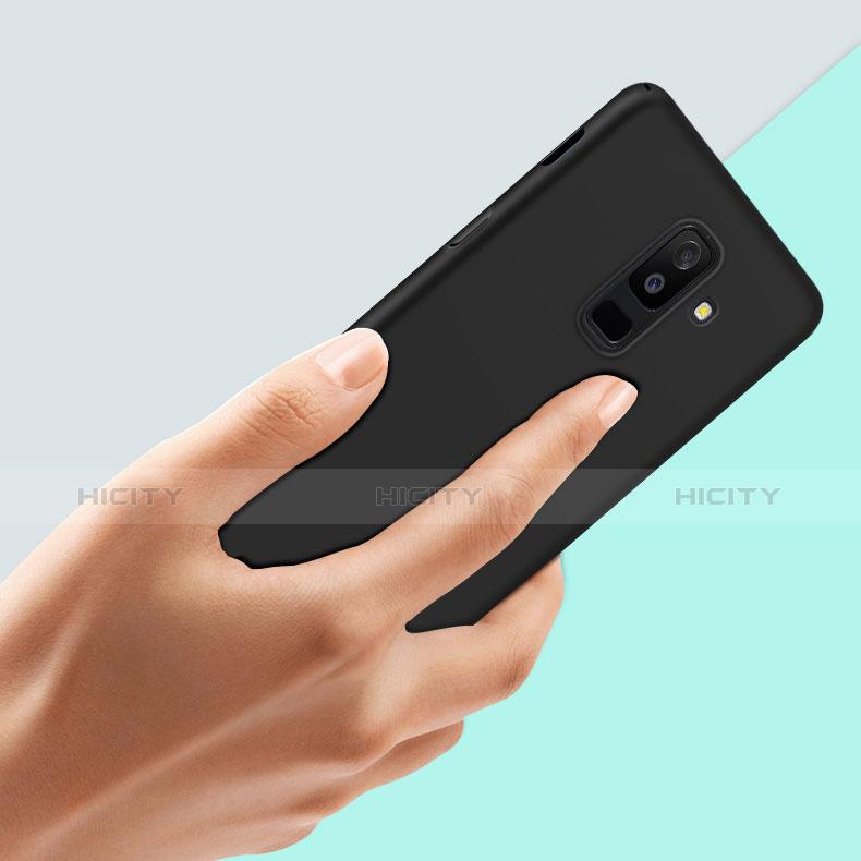 Samsung Galaxy A9 Star Lite用ハードケース プラスチック 質感もマット M02 サムスン ブラック
