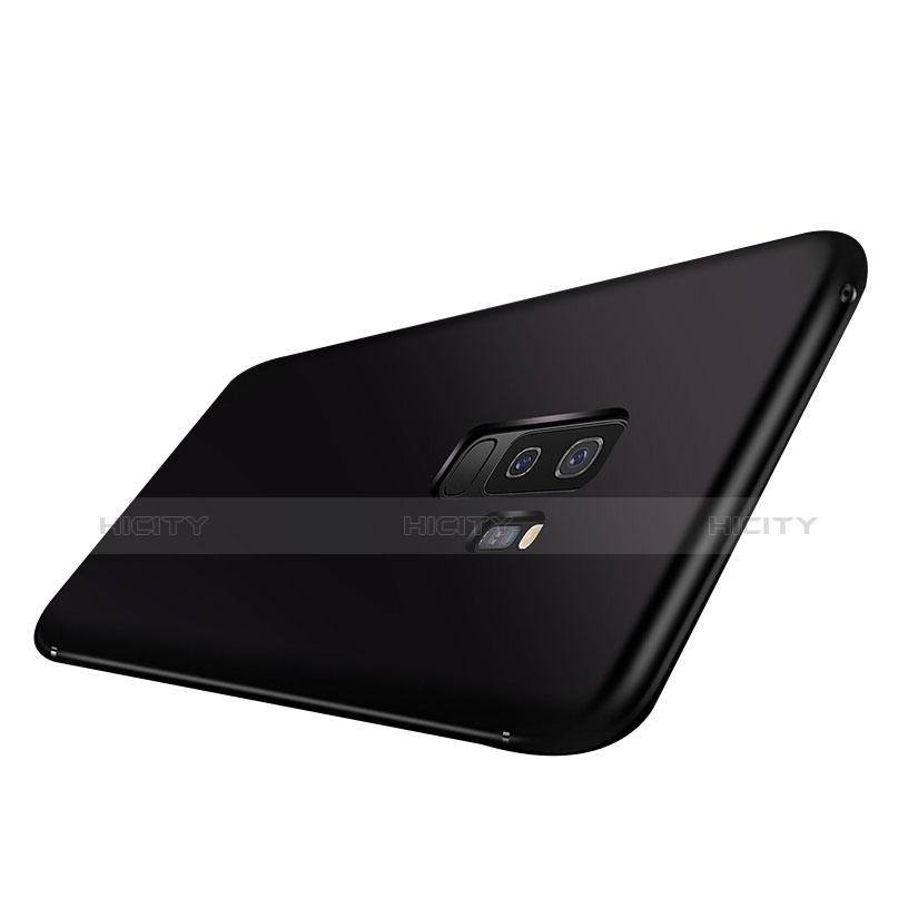 Samsung Galaxy A9 Star Lite用極薄ソフトケース シリコンケース 耐衝撃 全面保護 S03 サムスン ブラック
