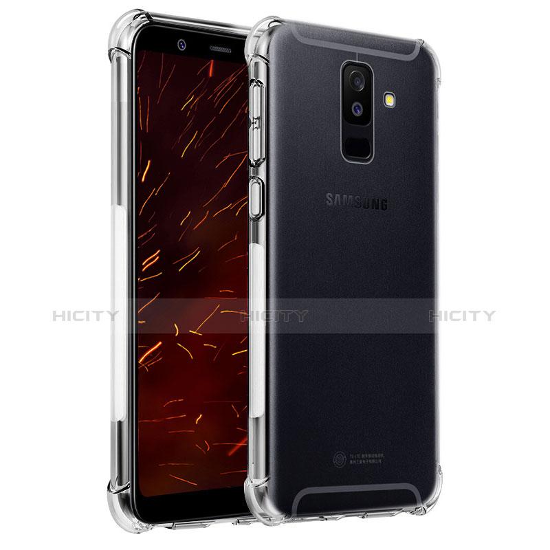 Samsung Galaxy A9 Star Lite用極薄ソフトケース シリコンケース 耐衝撃 全面保護 クリア透明 T04 サムスン クリア