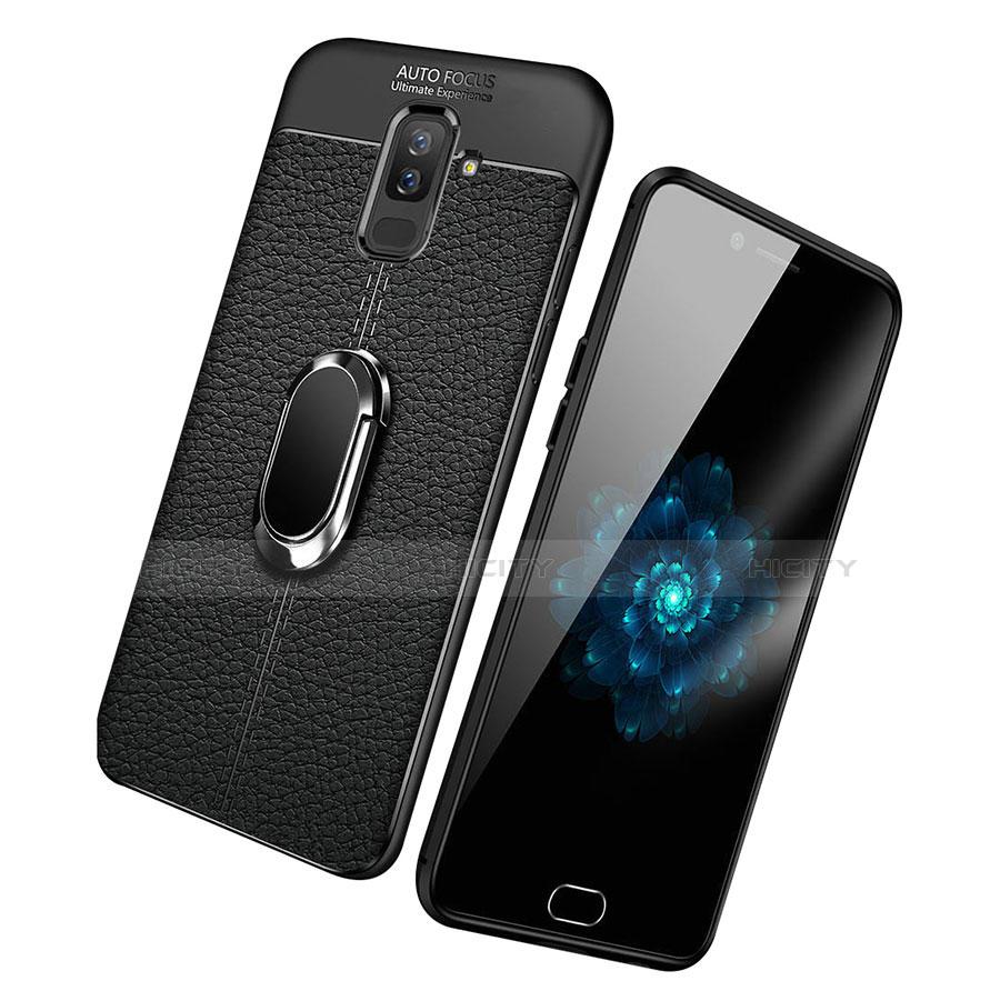 Samsung Galaxy A9 Star Lite用極薄ソフトケース シリコンケース 耐衝撃 全面保護 アンド指輪 マグネット式 バンパー S01 サムスン