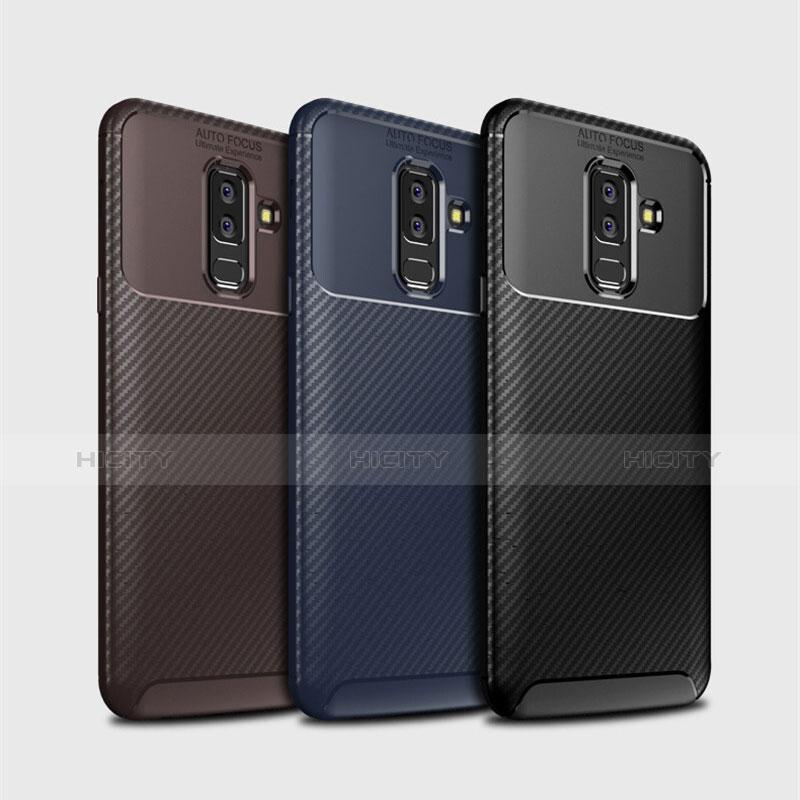 Samsung Galaxy A9 Star Lite用シリコンケース ソフトタッチラバー ツイル カバー サムスン