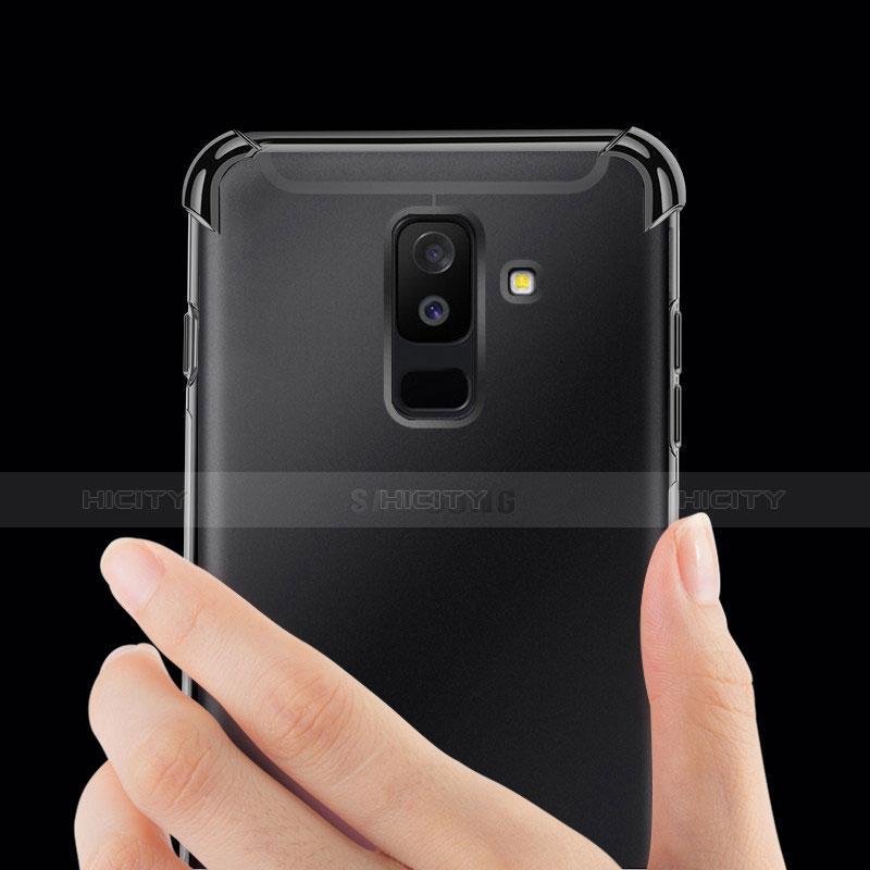 Samsung Galaxy A9 Star Lite用極薄ソフトケース シリコンケース 耐衝撃 全面保護 クリア透明 H01 サムスン