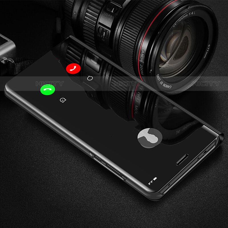 Samsung Galaxy Note 10 Plus 5G用手帳型 レザーケース スタンド 鏡面 カバー サムスン