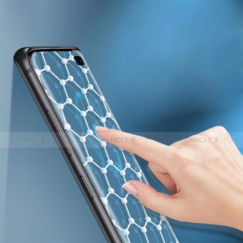 Samsung Galaxy S10 Plus用高光沢 液晶保護フィルム フルカバレッジ画面 F01 サムスン クリア