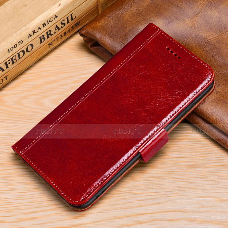 Samsung Galaxy S9用手帳型 レザーケース スタンド カバー P01 サムスン レッド