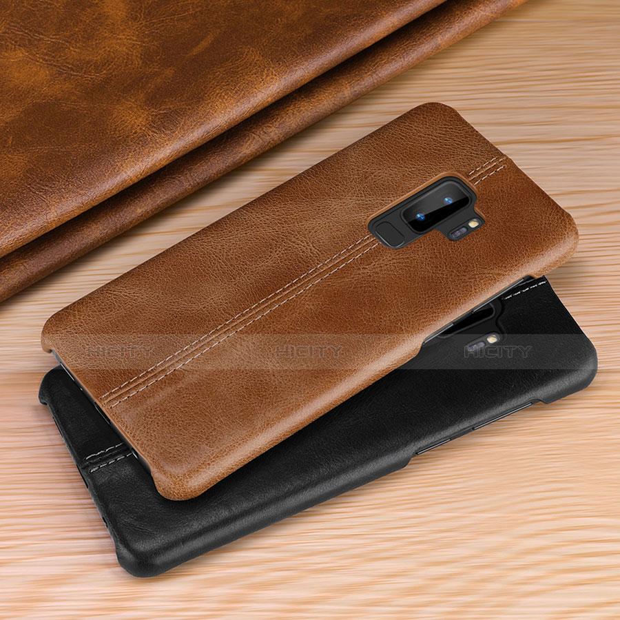 Samsung Galaxy S9用手帳型 レザーケース スタンド カバー P03 サムスン