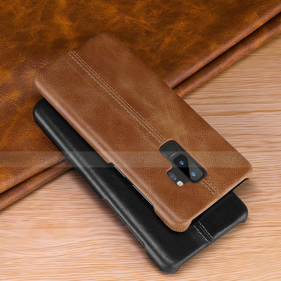 Samsung Galaxy S9 Plus用手帳型 レザーケース スタンド カバー P03 サムスン