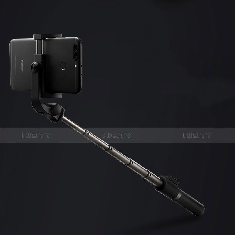 無線 Bluetooth じどり棒 自撮り棒自分撮りスティック セルフィスティック S23 ブラック