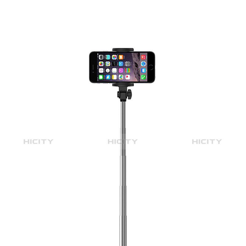 無線 Bluetooth じどり棒 自撮り棒自分撮りスティック セルフィスティック S24 ブラック