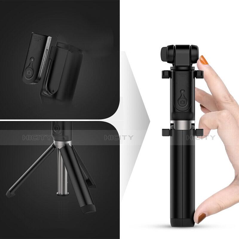 無線 Bluetooth じどり棒 自撮り棒自分撮りスティック セルフィスティック S27 ブラック