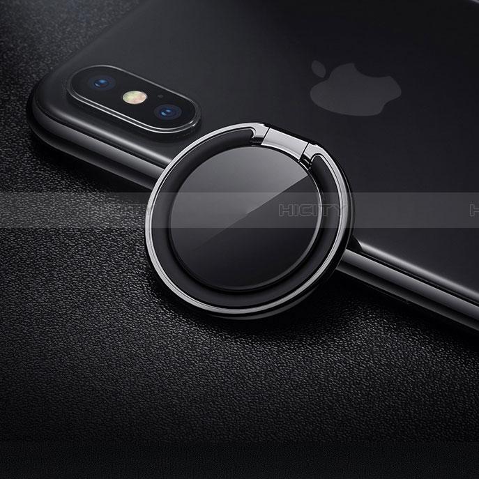 スタンドタイプのスマートフォン ホルダー マグネット式 ユニバーサル バンカーリング 指輪型 Z09
