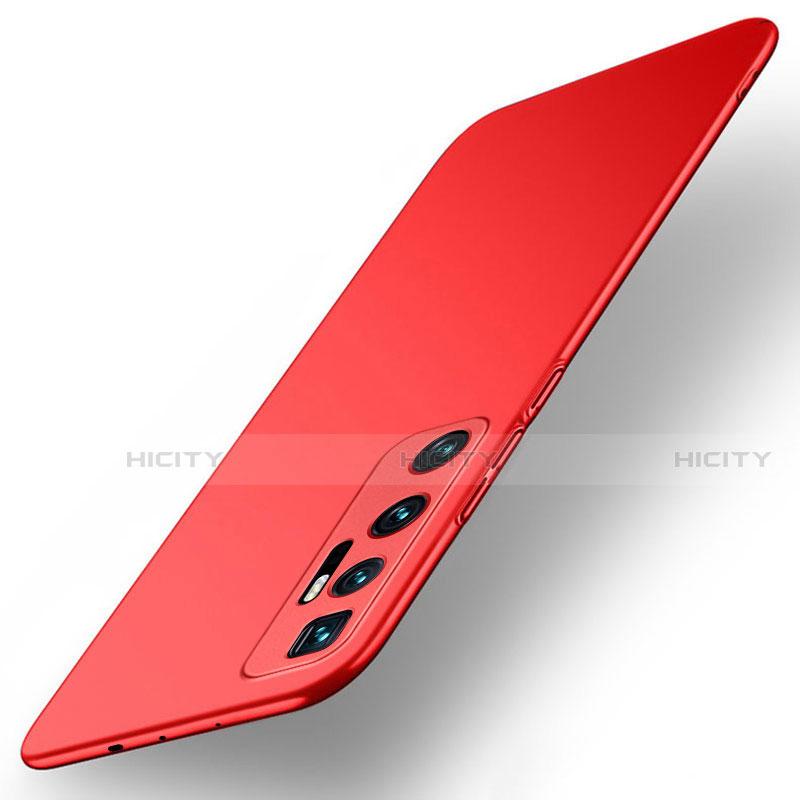 Xiaomi Mi 10 Ultra用ハードケース プラスチック 質感もマット カバー M01 Xiaomi レッド