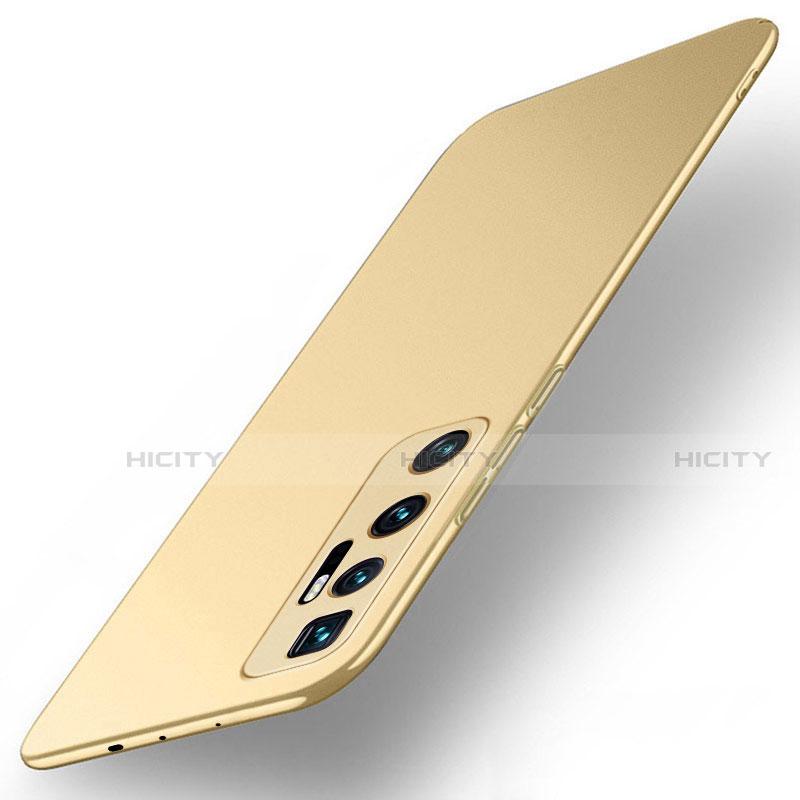 Xiaomi Mi 10 Ultra用ハードケース プラスチック 質感もマット カバー M01 Xiaomi ゴールド