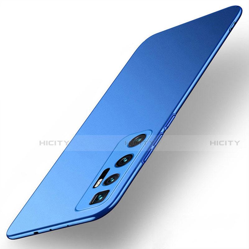 Xiaomi Mi 10 Ultra用ハードケース プラスチック 質感もマット カバー M01 Xiaomi ネイビー