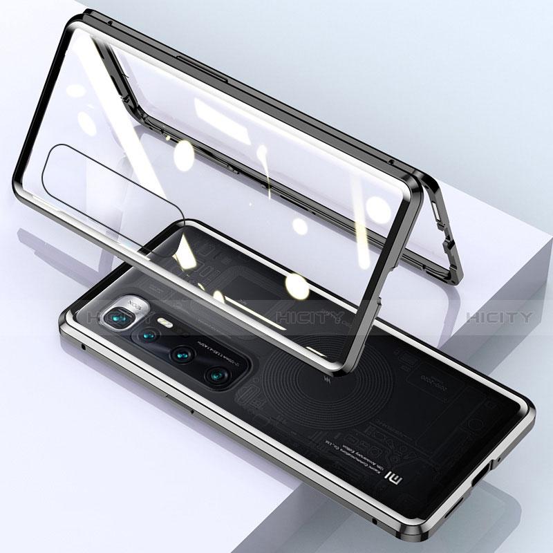 Xiaomi Mi 10 Ultra用ケース 高級感 手触り良い アルミメタル 製の金属製 360度 フルカバーバンパー 鏡面 カバー M01 Xiaomi