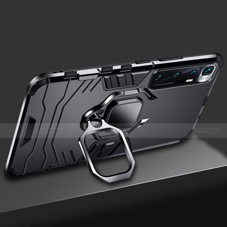 Xiaomi Mi 10 Ultra用ハイブリットバンパーケース プラスチック アンド指輪 マグネット式 S01 Xiaomi