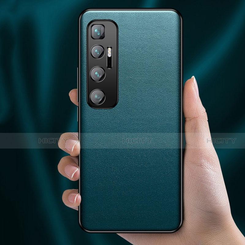 Xiaomi Mi 10 Ultra用ケース 高級感 手触り良いレザー柄 Xiaomi