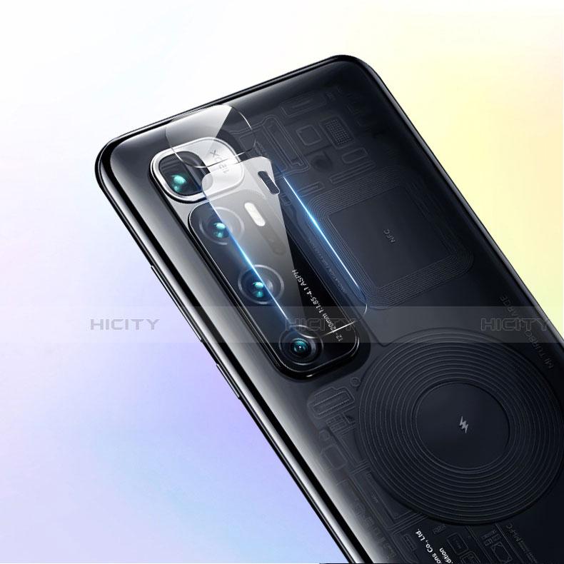 Xiaomi Mi 10 Ultra用強化ガラス カメラプロテクター カメラレンズ 保護ガラスフイルム C01 Xiaomi クリア
