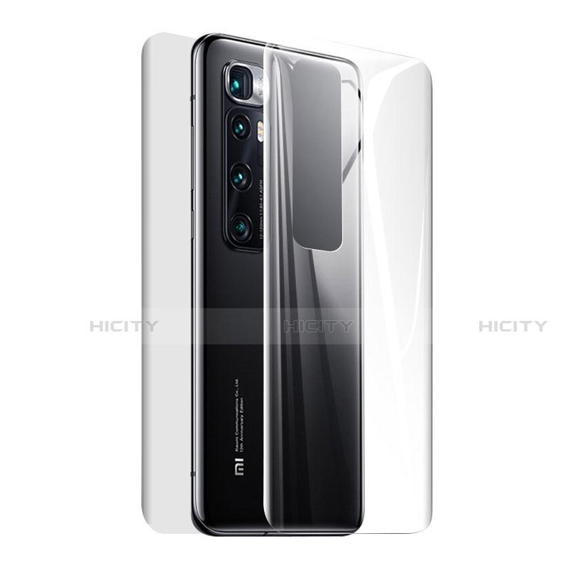 Xiaomi Mi 10 Ultra用高光沢 液晶保護フィルム 背面保護フィルム同梱 Xiaomi クリア