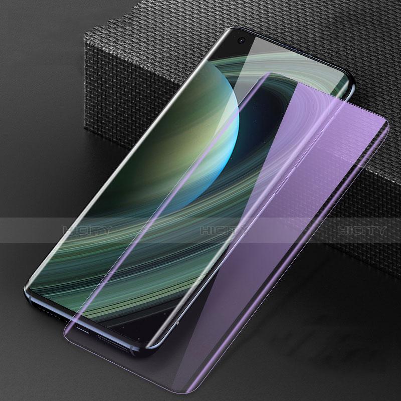 Xiaomi Mi 10 Ultra用強化ガラス フル液晶保護フィルム アンチグレア ブルーライト F02 Xiaomi ブラック