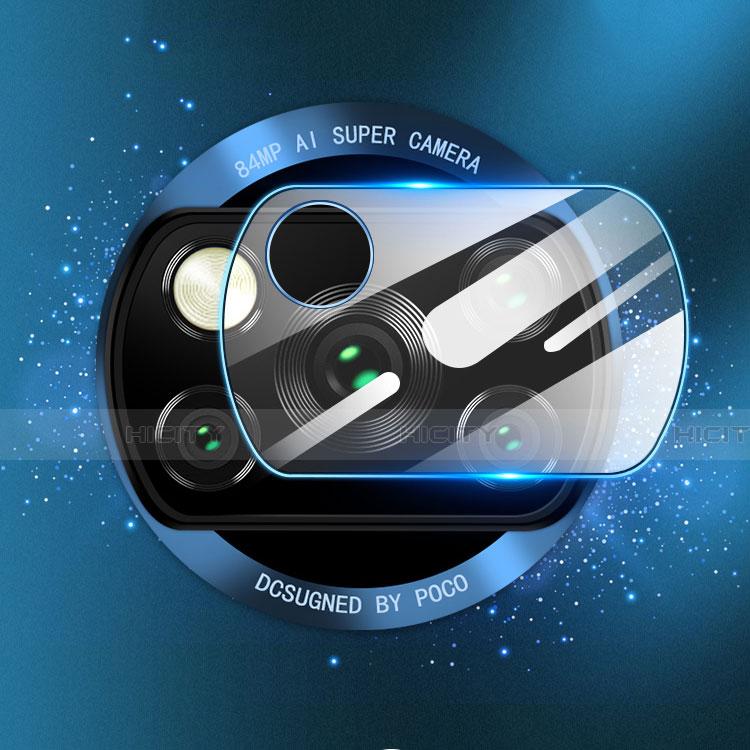 Xiaomi Poco X3 NFC用強化ガラス カメラプロテクター カメラレンズ 保護ガラスフイルム Xiaomi クリア