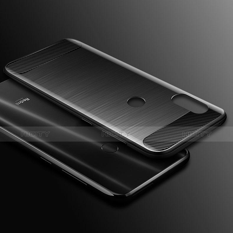 Xiaomi Redmi Note 7用シリコンケース ソフトタッチラバー ライン カバー Xiaomi