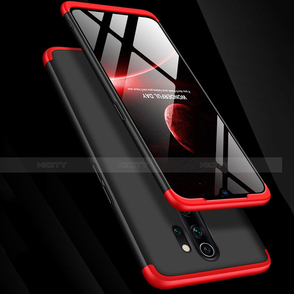 Xiaomi Redmi Note 8 Pro用ハードケース プラスチック 質感もマット 前面と背面 360度 フルカバー アンド指輪 Xiaomi